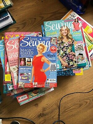 49 Sewing Magazines Bundle Job Lot - Collection Only