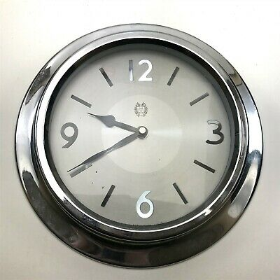 Vintage Styled Kitchen Wall Clock : Chrome Design <CT01
