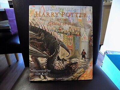 Harry Potter and the Goblet of Fire Book by Bloomsbury Illustrated by Jim Kay