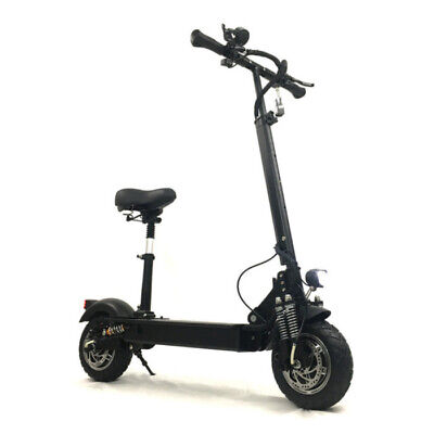 FLJ Electric Off-Road Smart E Step Scooter With Seat - 2400W - 20Ah Battery - 11