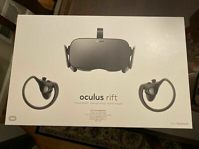 Used Oculus Rift CV1. (Two Controllers, Three Sensors, Great Condition)