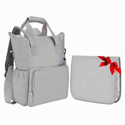 Large Nappy Mummy Changing Maternity Baby Bag Backpack Diaper Multifunctional