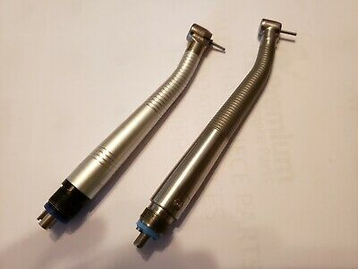 Set of two High Speed drills with New Turbines manual chuck