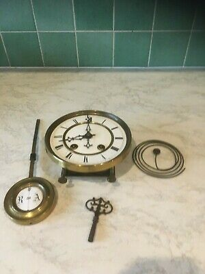 Antique Lenzkirch wall clock movement