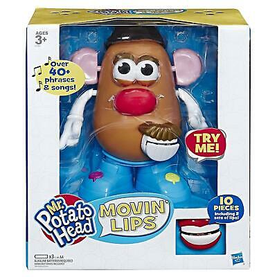 Mr Potato Head E4763802 Playskool Movin' Lips Electronic Interactive Talking Toy
