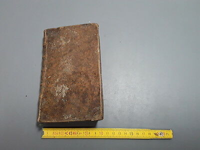 Antique Dictionary François Latin of Terms: Medicine and Surgery 1747