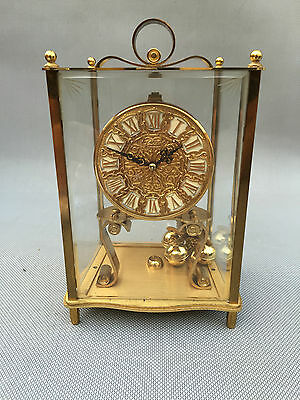 Antique Clock Pendulum Table Kundo German West Germany French Clock