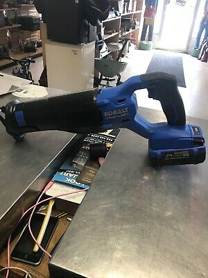 Kobalt Krs 1824B-03 24V Sawzall Reciprocating Saw W/Battery (116487-1 H)