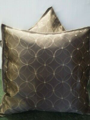 £12.99 For A Pair Of 24 Inch Extra Large Giant Cushions Brown Design