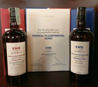 Rum Monymusk EMB 14yo tropical/continental aging Velier Scheer