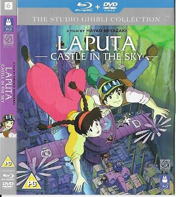 Studio Ghibli Laputa Castle in the Sky Blu Ray Slipcover BN