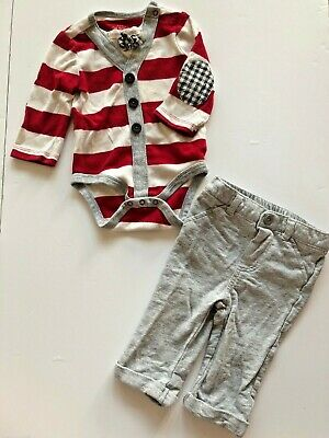 Cat /& Jack Nautical Outfit 3-6 Months