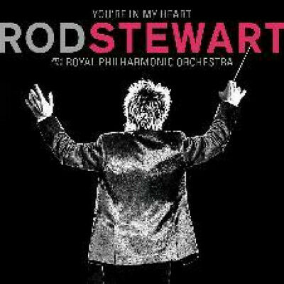 ROD STEWART You're In My Heart CD Europe Rhino 2019 15 Track With The Royal