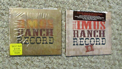THE IMUS RANCH RECORD and IMUS RANCH RECORD II ..Lot of 2 CDs (New/Sealed)