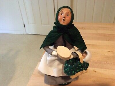 Byers Choice Carolers 1997 Pilgrim with Baby free 📦 shipping