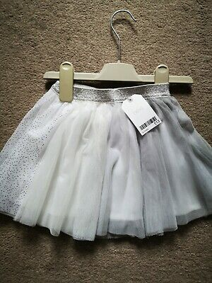Baby girl Next Sparkle Skirt Age 9-12 Months