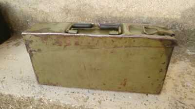 patronenkasten 15 cassetta munizioni German ammo box WW1 kiste MG no helmet ww2