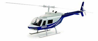 Newray 26073A - Elicotteri Scala 1:34, Bell 206 Police, Die Cast