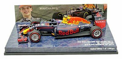 Minichamps-Red Bull Tag Heuer Rb12-Germania Gp 2016-Scala 1/43, 417160833,
