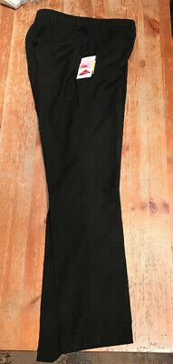 Ladies / Girls Lycra black Trousers Size 8 New With tags