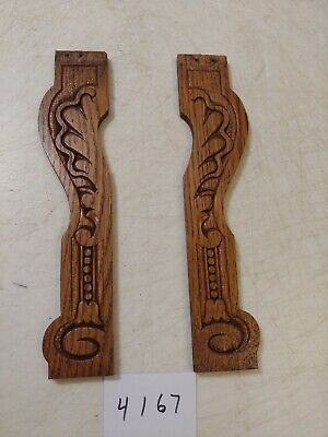 Sessions Gingerbread/ Parlor Clock Wooden Carved Side Trim