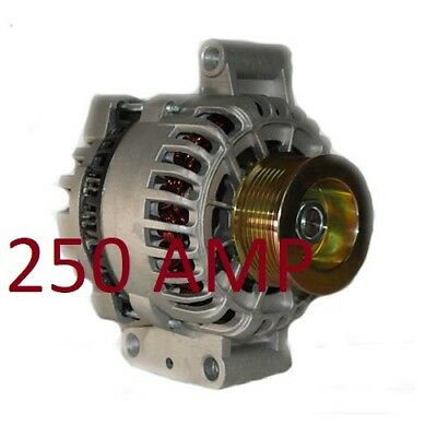 HIGH OUTPUT F-250 Super Duty V8 7.3L 445cid Diesel 1999-2001 ALTERNATOR 250 AMP