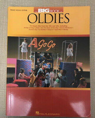 The Big Book of Oldies 50s 60s Songs Piano Sheet Music Book Guitar Chords