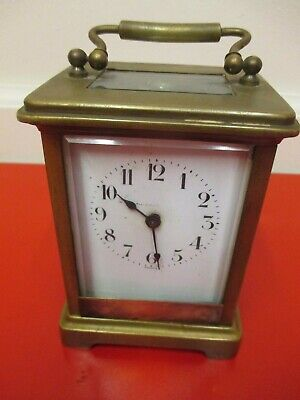 Beautiful----- Antique----- French ----- Carriage Clock----Time Only----