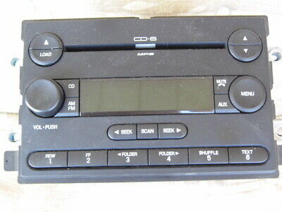 FORD FREESTYLE 6 cd  changer tuner 6F9T-18C815-AB   USED