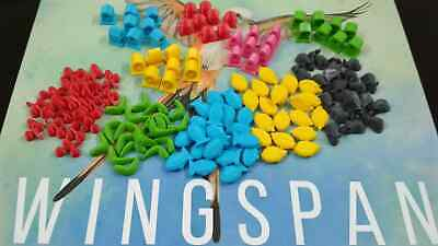 Exclusive 3D tokens full set - Wingspan board game