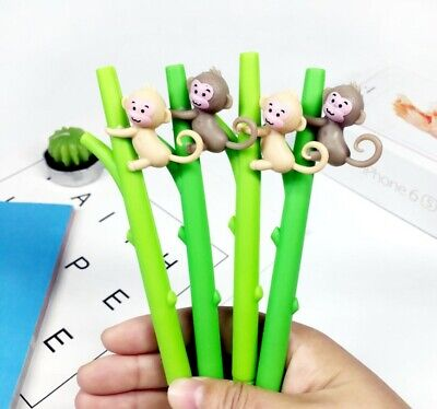 Cheeky Monkey Pen Stationery Black Party Loot Bag Supplier Cute Novelty Gift