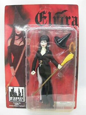 ELVIRA Mistress of the Dark Witch Variant Action Figure MOC Vintage Figures Toy