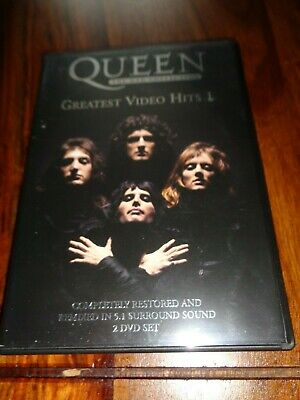 Queen Greatest Video Hits 1 The Dvd Collection  2 Dvd Set Freddie Mercury