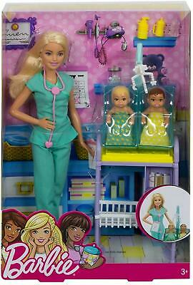 Mattel - Barbie - Baby Doctor Playset - Free Shipping. Brand New in Box