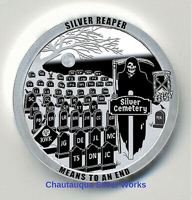 OF 200//CHAUTAUQUA SILVER WORKS//#/'d YOUR CHIP HAS BEEN DEACTIVATED 1 OZ//LTD ED