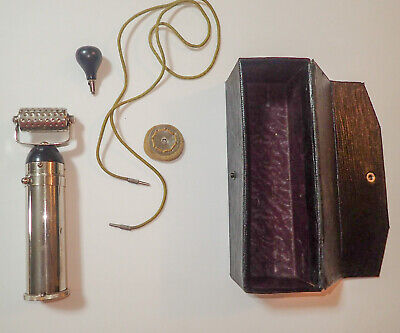 Antique Quack Medical Device Vitapulser SOS Electric Pulser Working Early 1900s