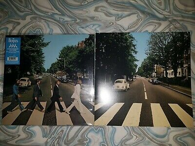 THE BEATLES ABBEY ROAD REPARKED EDITION VW SLEEVE plus 50th anniversary LP