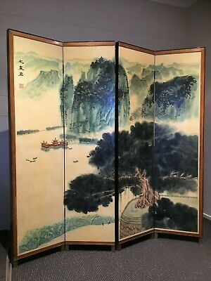 Chinese Screen - Authentic & Rare - Vintage