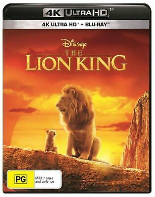 The Lion King 2019 4K UHD + Blu-Ray BRAND NEW Region B IN STOCK NOW