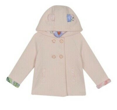 Ted Baker Girls Pink Quilted Jacket BNWT 4-5