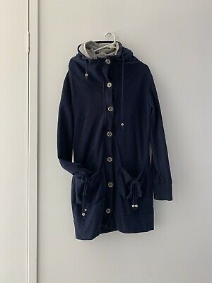 Blue Jumper Coat Removeable Double Lining For Extra Warmth