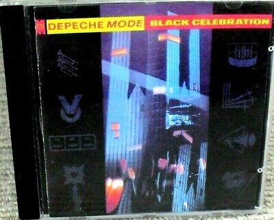 Depeche Mode - Black Celebration Cd Album 1990