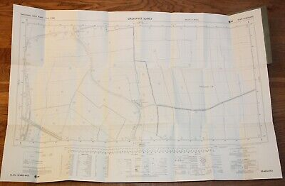 Ordnance Survey Map SE 6825-6925 Yorkshire 25 inch to 1 mile Drax Selby Newland