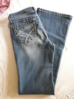 Girls Size 14 Charme Western Bootcut Jeans In Excellent Pre Loved Condition