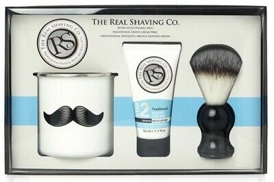 The Real Shaving Co. Barber Gift Set Xmas Gift