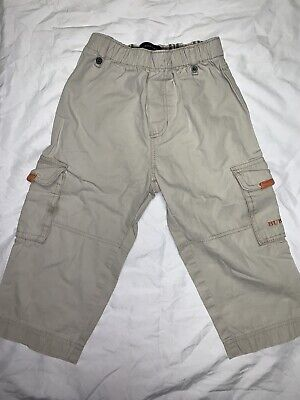 burberry boys cargo trousers (10months)