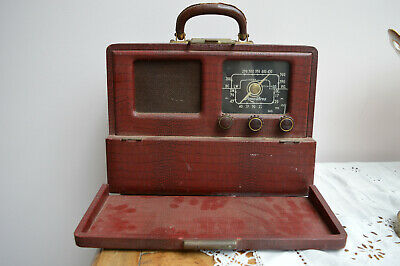 Radio portable Pizon-Bros, Trav-ler 50.  Vintage. 1951.