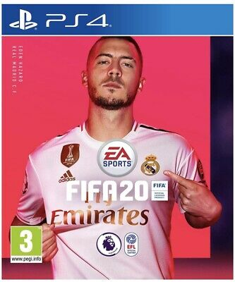 FIFA 20 Champions Edition (PS4) - Excellent Condition. (Code redeemed)