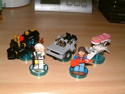 Back To The Future Lego Dimensions Level + Fun Pack Xbox One 360 Ps3 Ps4 Wii U