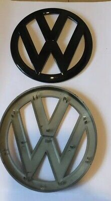 VW Volkswagen Black Gloss Golf Mk7 (2012-2019) Front Badge  135mm Top Quality